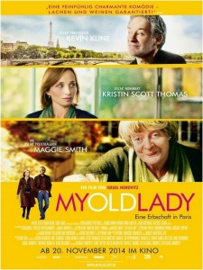 My Old Lady - Poster 1