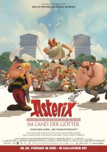 Asterix im Land der Götter Poster
